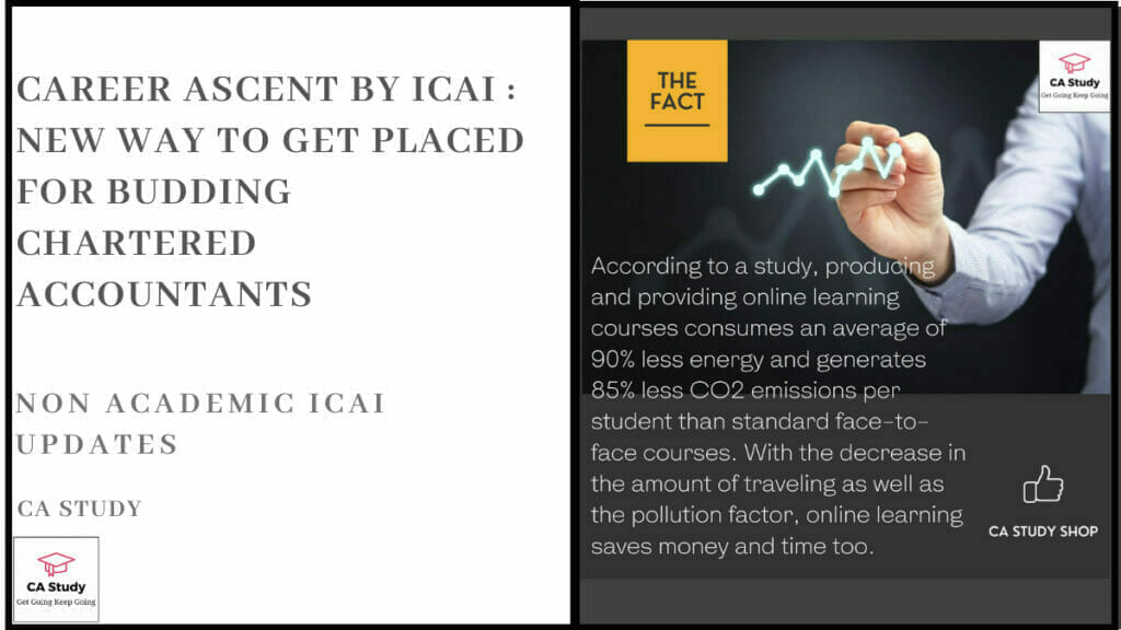 Career Ascent by ICAI - A New Way to Get Placed for Budding Chartered Accountants
